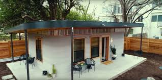how to start to build a house sxsw 2018 robot can build tiny affordable house in less than a day