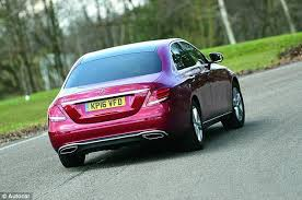 Most Comfortable Saloon Car Mercedes Benz E Class Review This Is Money