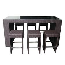 target high top table high top table round with storage and chairs for restaurant set target
