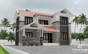 mixed roof 4 bedroom modern residence u2013 kerala home design