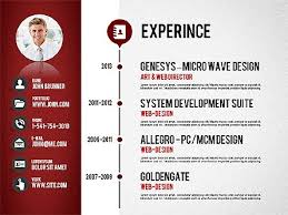 Powerpoint Resume Template Powerpoint Resume Lukex Co