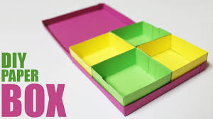 how to make a paper storage box diy storage box with lid