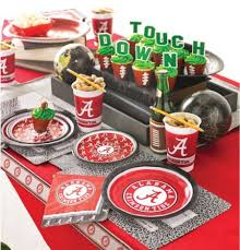 football party favors collegiate theme party supplies at party supplies and decorations