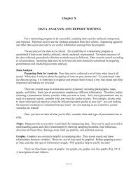 drainage report template exceptional data analysis and report writing sle for business