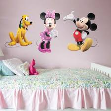 minnie mouse wall decal shop fathead mickey mouse decor