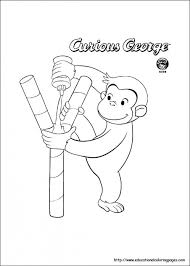get this curious george coloring pages for kids 06031