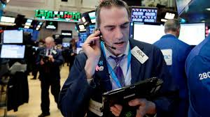 caterpillar forecast sends stocks plunging dow drops 424 for day