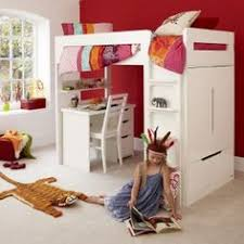 Bunk Beds With Desk And Storage by Combi Mid High Sleeper Storage Bunk Bed With Desk Wardrobe And