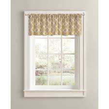 Valances For Living Rooms Fairview Waterfall Window Valance Walmart Com