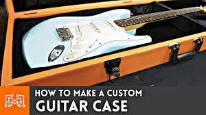 How To Make I How To Make A Guitar Case Woodworking Youtube