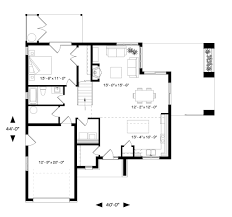 Modern Design House Plans by Modern Style House Plan 4 Beds 2 00 Baths 1944 Sq Ft Plan 23 2308