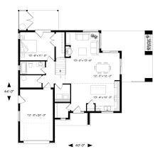 modern style house plan 4 beds 2 00 baths 1944 sq ft plan 23 2308