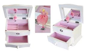 personalized ballerina jewelry box mele co marianne girl s wooden musical ballerina