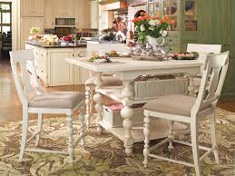counter height gathering table gathering table collection linen by paula deen