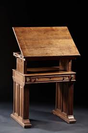 Drafting Table Vancouver Furniture Draftsman Desk Drafting Table With Drawers Antique