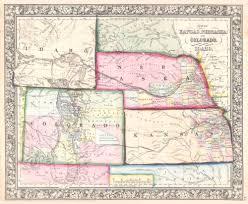 University Of Arizona Map Colorado Kansas Map Arizona Map