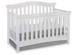 4 In 1 Convertible Crib White Bennington Curved 4 In 1 Crib Delta Children