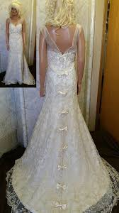Wedding Dresses With Bows Bow Back Wedding Dress