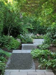 Modern Garden Path Ideas Amazing Of Best Ci Modern Backyard Crushed Rock Pathway V 5094