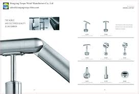 Banister Fittings China Cheap Adjustable Stair Handrail Fitting Porch Railings