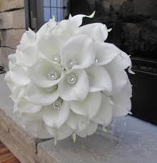white bouquet calla bouquet brooch bouquet white bouquet bridal bouquet