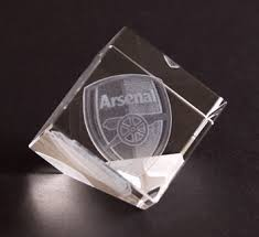 Crystal Souvenirs Arsenal Football Club Gifts Arsenal Souvenir Arsenal Keepsakes