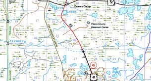 Map Of Pasco County Florida by Maguire U0026 Lassman