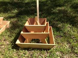 pyramid planter 3 tier herb garden strawberry planter vertical