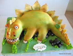 dinosaur cakes dinosaur cake cake decorating tutorial veena s
