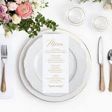 the 25 best wedding menu template ideas on pinterest wedding