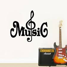 compare prices on music note wall stickers online shopping buy musical notes vinyl wall sticker lovely music wall art decals mural for home living room