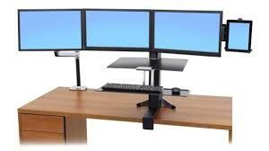 Lx Hd Sit Stand Desk Mount Lcd Arm Modern Ergotron Sit Stand Desk Inside Workfit D Light