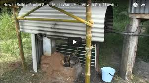 Chofu Wood Stove by How To Build A Rocket Stove Mass Water Heater