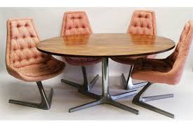 chromcraft table and chairs vladimir kagan for chromcraft a 1960 s sculpta dining table and