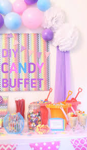 Candy Tables Ideas Whimsical Diy Candy Buffet Ideas Lifestyle Blog