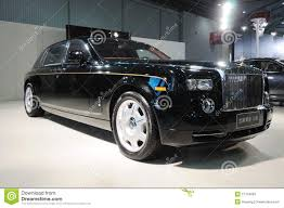 roll royce limousine rolls royce phantom limousine editorial stock photo image 17124093