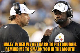 Haley Meme - tpop the assassination of le veon bell by the coward todd haley