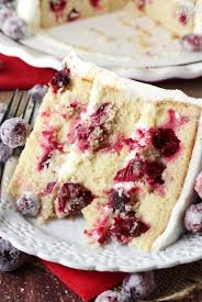 Sparkling Cranberry White Chocolate Cake Life Love And Sugar