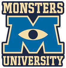image gallery monsters university logo
