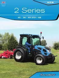 landini serie 2 tractor transmission mechanics