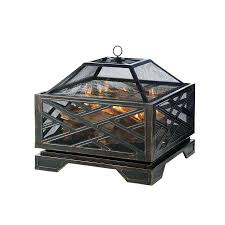 Oriflamme Sahara Fire Table by Articles With Wood Fire Pit Cover Tag Captivating Wood Fire Pit