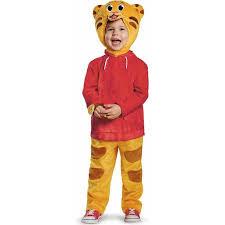 Toddler Football Halloween Costume Daniel Tiger Deluxe Toddler Halloween Costume Walmart