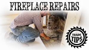 chimney and fireplace repairs removing old brick hearth trade