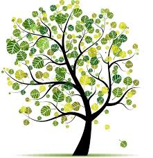 tree green for your design stock vector colourbox