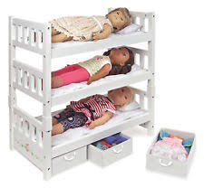 Badger Bunk Bed Badger Basket 15309 1 2 3 Convertible Doll Bunk Bed With Storage
