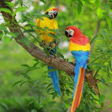 animaux resine jardin achetez en gros parrot garden wall decoration en ligne à des