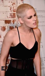literally just 26 pictures of kristen stewart and her newly shaved