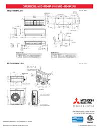 mini split 24 000 btu mitsubishi 18 seer heat pump system