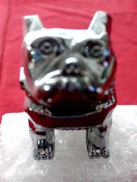 mack bulldog ornament with mounting bolts design patent 87931