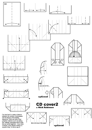 Origami Cd Cover - cd covers